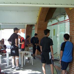 Torneo squash del Pilar 2009