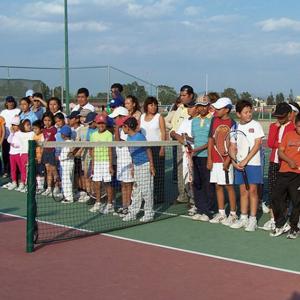 Programa de apoyo a canchas públicas de tenis 2008