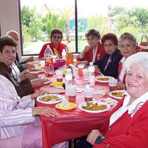 Visita del Centro de Día 2008
