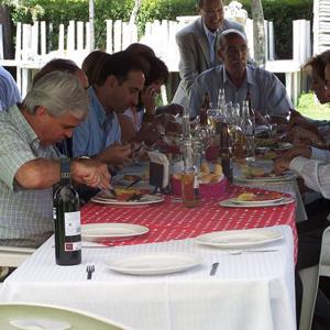 Comida beneficencia española 2009