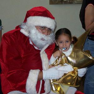 Visita de Santa Claus 2009