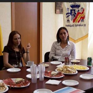 Visita de directivos casino español de Orizaba 2008