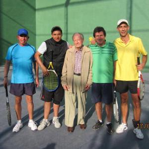 Torneo de la amistad, frontenis y squash 2013