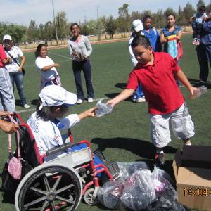 Donación A La Asociación Poblana De Deportistas Con Parálisis Cerebral A.C. 2013