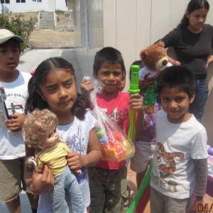 Donación día del niño 2013