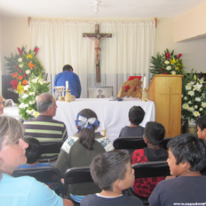 5° Aniversario de la casa hogar Domingo Savio 2014