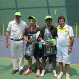Torneo de frontenis, junio 2014