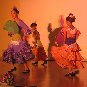 Presentación de flamenco (junio) 2012