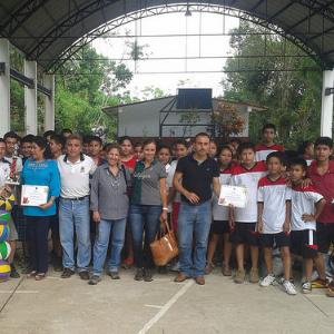 Voluntariado día del niño 2015 Sierra de Puebla