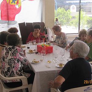 Comida para el centro de día 60 y más 2012