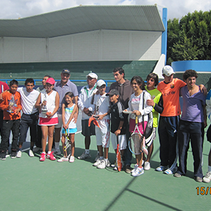 Torneo infantil de reyes magos de tenis 2012