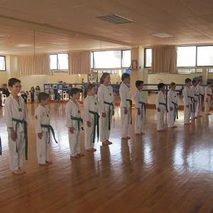 Examen de Tae kwon do diciembre 2011