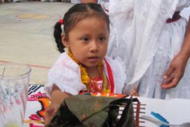 Entrega de apoyos de navidad para niños de la Sierra Norte